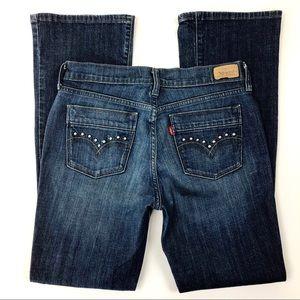 Levi's | 515 Boot Cut Jeans Embellished Pockets